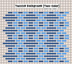 Twisted Background (Two-color)
