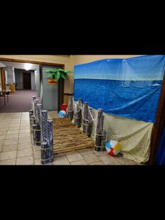 Blueprints church is ready for surf shack vbs thanks to mary blueprints church is ready for surf shack vbs thanks to mary camacho and surfer team with blueprints church in wellin surf shack decorating ideas malvernweather Images