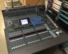 yamaha m7cl 48 channel digital mixer professional sound lighting music industry audio. Black Bedroom Furniture Sets. Home Design Ideas