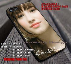 Demi lovato and signature, cute demi lovato,  demi lovato, case/cover for iPhone 4/4s/5/5c/6/6 /6s/6s  Samsung Galaxy S4/S5/S6/Edge/Edge  NOTE 3/4/5 #music #dml ii