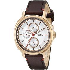 Fossil Analog Display Analog Quartz Brown Watch