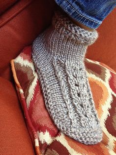Ravelry: Better Dorm Boots Lace Edition pattern by Kris Basta - Kriskrafter, LLC