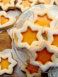 Pomarańczowe ciasteczka z galaretką | kolorowo-torcikowo