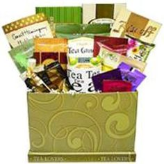 Art of Appreciation Gift Baskets Tea Lovers Care Package Gift Box: Christmas Gifts Coffee Gift Baskets, Gourmet Gift Baskets, Christmas Gift Baskets, Christmas Gifts For Adults, Christmas Food Gifts, Holiday Gifts, Gourmet Food Gifts, Tea Gifts, Best Birthday Gifts