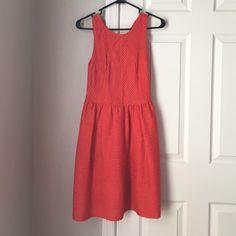 Anthropologie Bordeaux Red Dress