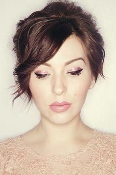 keiko lynn: Makeup Monday: Glittering Eyes