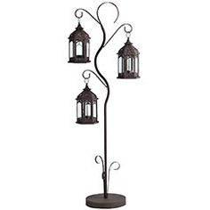 White metal lamp post floor lantern floor lanterns and products mozeypictures Gallery