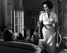 Paul Newman & Liz Taylor in Cat on a Hot Tin Roof