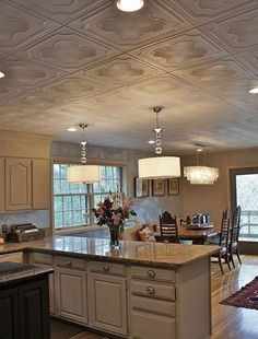 I know that there are many homes, mine included, that have popcorn ceilings. Double-storey or homes with a concrete slab loft are often finished off with a popcorn plaster. Here's how to cover up a popcorn or textured ceiling.