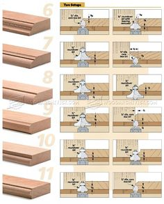 #1607 Routed Edge Profiles - Router Tips, Jigs and Fixtures