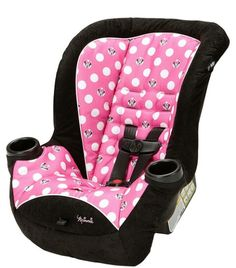 Minnie Mouse girl carseat