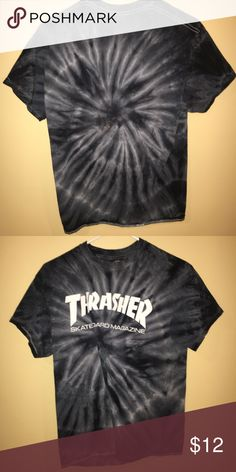 Tie-Due Thrasher T-Shirt Fits well too the body. Could pass as new even though it has been worn before. WILLING TO NEGOTIATE Thrasher Shirts Tees - Short Sleeve