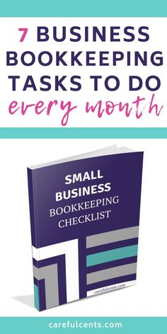 business finance Free Small Business Bookkeeping Checklist for Beginners -- find out the bookkeeping tasks and tips to do every month to stay organized! Small Business Bookkeeping, Bookkeeping And Accounting, Small Business Accounting, Accounting And Finance, Business Analyst, Business Entrepreneur, Business Marketing, Bookkeeping Training, Media Marketing
