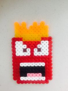 Anger - inside Out perler beads