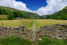 The Yorkshire Dales National Park is full of stone-built villages, stunning landscapes and vibrant communities. Yorkshire Dales, Yorkshire England, North Yorkshire, England Uk, Bolton Castle, Scarecrow Festival, Riverside Walk, Northern England, Tourist Information