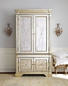 A beautiful, chic Amelie Mirrored Cabinet http://rstyle.me/n/fkktir9te