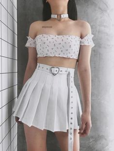 Hipster Outfits To Make Everyone Envy - Cute Outfits Stage Outfits, Edgy Outfits, Teen Fashion Outfits, Cute Casual Outfits, Skirt Outfits, Pretty Outfits, Korean Outfits, Fashion Clothes, Ulzzang Fashion