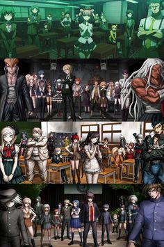 DANGANRONPA 1, 2 and v3 + Student council Total Drama Island, Otaku, Super Danganronpa, Trigger Happy Havoc, Fanart, Mystic Messenger, All Anime, Funny Games, Kaito