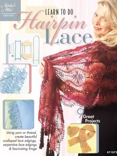 Crochet - Learn to Do Hairpin Lace - #871072E