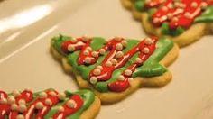 Galletas de arbolitos de navidad