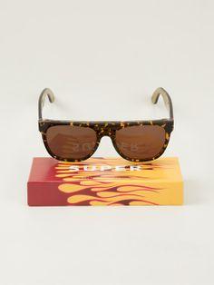 Women - Retro Super Future 'Screamer' Sunglasses - WOK STORE