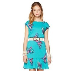 NWT Lilly Pulitzer I've got Butterflies Sz S NWT. Belt not included Lilly Pulitzer Dresses