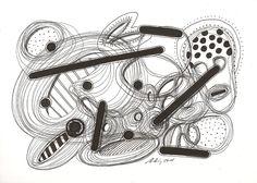 """""""dead idea"""", #Zeichnung #Pigmenttusche (Molotow™ schwarze Pigmenttusche - Fineliner)  auf #Hahnemühle #Papier """"Skizze 190"""", 190 g/m2 21 x 30 cm, © #matthias #hennig 2015     """"dead idea"""", #india #ink #drawing (Molotow black pigment ink fineliner) on  Hahnemühle  #paper """"Skizze 190"""",190 g/sqm 21 x 30 cm, © #matthias #hennig 2015"""