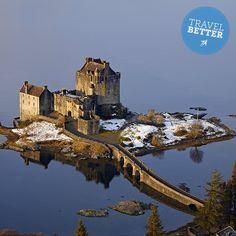 Eilean Donan Castle, Kyle of Lochalsh #Scotland