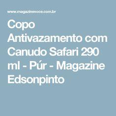 Copo Antivazamento com Canudo Safari 290 ml - Púr - Magazine Edsonpinto