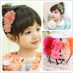 0e551c6295ebd Baby Hair Accessories Kids Hair Bows Fashion Headwear Children Accessories  Hair Bows With Chiffon Flower Princess