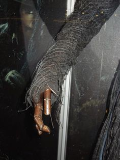 Into the Woods Witch costume sleeve detail