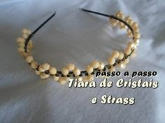 NM Bijoux - Tiara de Cristais e Strass