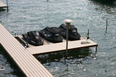 ShoreStation Freestanding dock is one of the easiest to install and creates a lakefront aesthetic that will outshine all others.