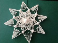 BBeautiful quilled star