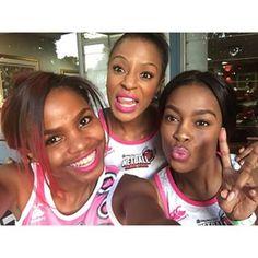 K Naomi Noinyane, Jessica Nkosi, Khanya Mkangisa