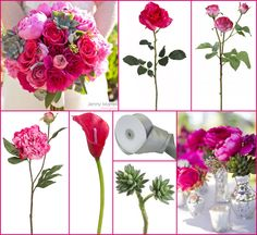 #pink wedding #succulent #afloral http://blog.afloral.com/daily-scoop/amandas-modern-fuchsia-bouquet-with-succulents-wedding-inspiration-board/#.UTYbWBxgSSo