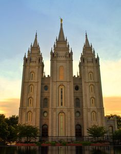 Salt Lake City LDS Mormon Temple by Nate A on 500px