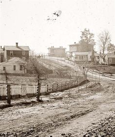 Civil War Atlanta-- 1864. Photo by George N. Barnard. Wow how time changes a place!