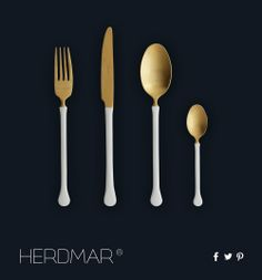 More than flatware, we bring to your table the fashion concept!  Herdmar…