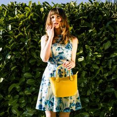 Yellow Real Leather Mini Grab Bag – by British handbag brand Amilu    Our Yellow Mini Newbury tote grab bag is a deceptively spacious yet compact handbag made from smooth matt real Italian leather and oozes style. With free delivery this bright and cheerful bag makes a perfect summer statement for someone looking for something a little different.    #fashion #handbags #style #outfit