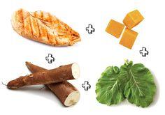 Combinações de alimentos para papinhas