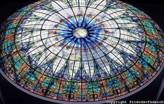 San Diego stained glass dome