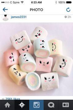 Marshmallows cute