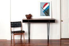 H120 HALL TABLE by Senkki Furniture - Hall Table, Hall Stand, Side Table, Table, Storage, Custom Furniture, Desk, Workstation, Bespoke, Mid Century