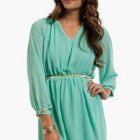 Tara Chiffon Dress $40
