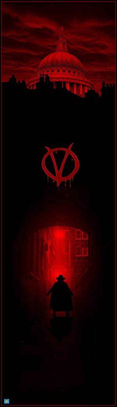V for Vendetta by Conor Murphy – Home of the Alternative Movie Poster -AMP- V For Vendetta Poster, V For Vendetta 2005, V Pour Vendetta, V For Vendetta Wallpapers, Joker Wallpapers, Ideas Are Bulletproof, The Fifth Of November, Heath Ledger Joker, Fanart