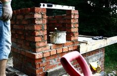 Smokehouse, Pizza Oven, Garden Grill - DIY Tutorial: 7 Steps (with Pictures) - Monica DIY Diy Grill, Grill Oven, Picture Source, Smokehouse, Hearth, Diy Tutorial, Grilling, Easy Diy, Pizza