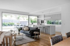 Kalka Wooloowin display home living space