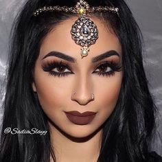 Beautiful @sadiaslayy Check out our headpieces