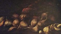 GIAMBATTISTA RUOPPOLO  ( attivo a Napoli nella metà del '600 ). ( attribuited ). SCENA DI PESCA. olio su tela. 60,5 × 131,5 cm.